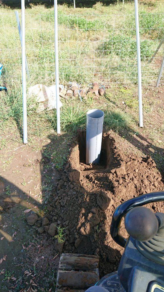 井戸掘り ボーリング工法 井戸